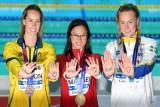السويدية سارة سيوستروم والكندية مارغريت ماكنيل والاسترالية إيما ماكيون