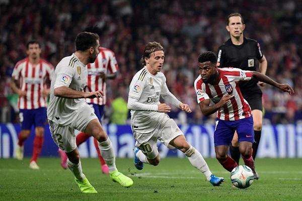 الريال وأتلتيكو مدريد يقتسمان نقطة التعادل في ديربي سلبي