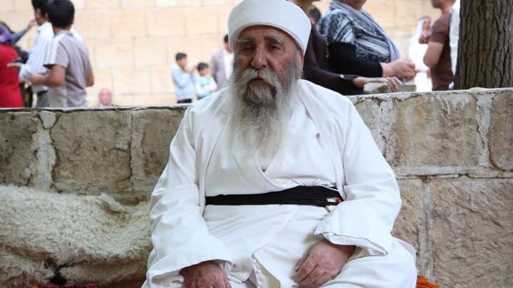 بابا الشيخ الاب الروحي للايزيديين والعالم
