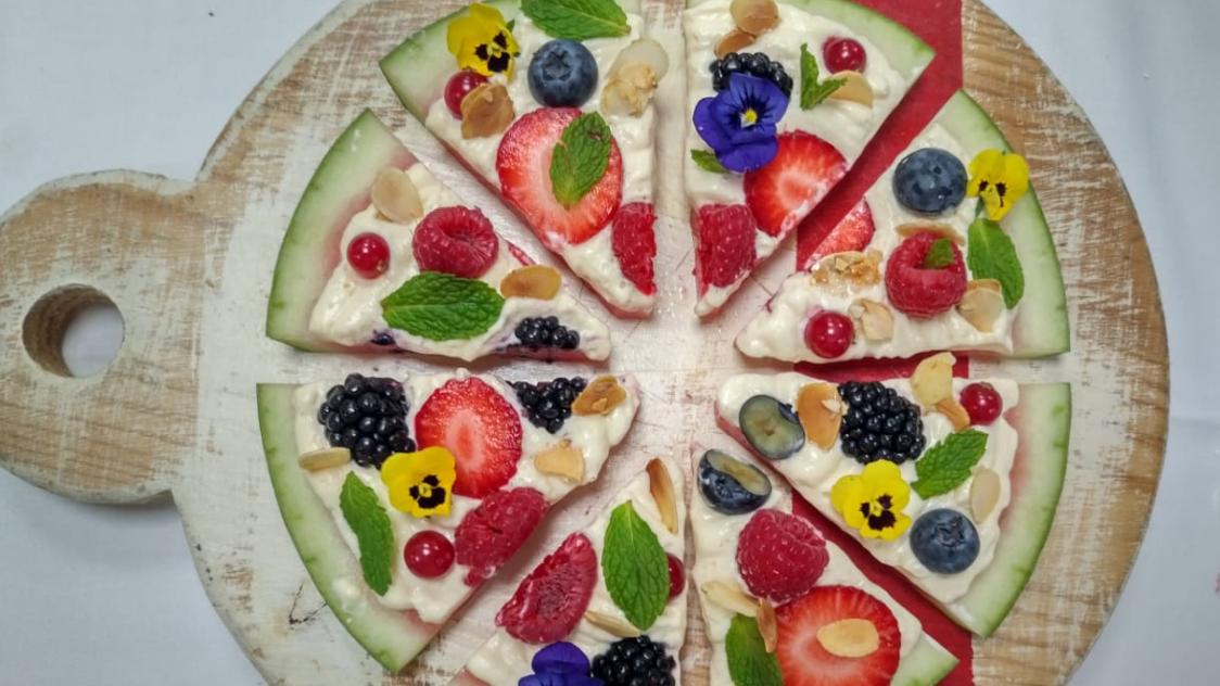 طريقة تزيين الطعام الصحي يزيد من شهية الأطفال
