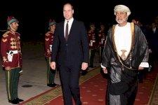 السيد هيثم بن طارق آل سعيد في استقبال دوق كامبريدج