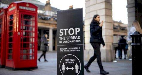حالات الاصابة بكورونا في إنكلترا لا تزال مرتفعة