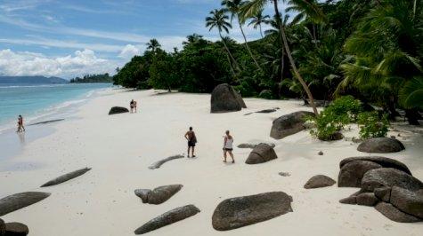 الجزر فقدت الاقبال المعتاد للسياح