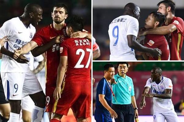 الكلمات الصادرة عن اللاعب الصيني بحق السنغالي تحمل طابعا عنصريا