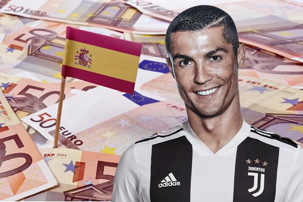 رونالدو دفع مبلغ 13,4 مليون يورو بهدف تجنب الملاحقات القضائية
