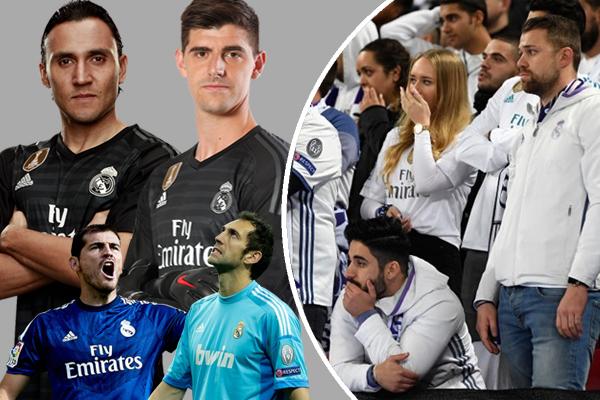 جماهير ريال مدريد تخشى وقوع خلاف بين الحارسين نافاس وكورتوا في تكرار لسيناريو الصراع بين كاسياس ولوبيز