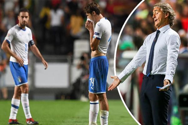 خاضت إيطاليا خلال عام 2018 سبع مباريات ودية، لم تفز سوى في مباراة واحدة مقابل تسجيلها ثلاث هزائم