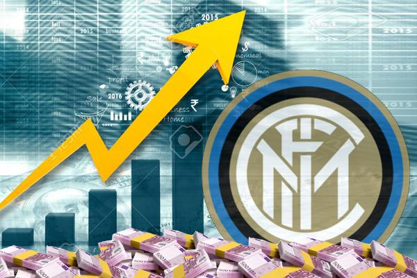 أكدت الأرقام إرتفاع قيمة إنتر ميلان في غضون عام واحد فقط ، لتصبح نحو 389 مليون يورو