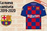 برشلونة يتخلى عن الخطوط في قميصه ويستبدلها بالمربعات