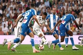 صدارة موقتة لريال مدريد الفائز على إسبانيول