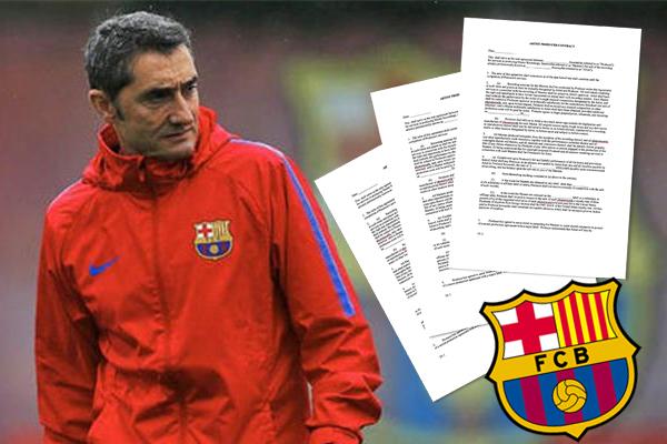 إدارة برشلونة ترغب بتجديد عقد فالفيردي