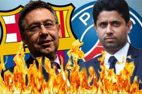 باريس سان جيرمان يعلن الحرب على برشلونة بسبب تصريحات بارتوميو