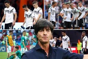 خاض منتخب ألمانيا 11 مباراة لم يحقق الانتصار سوى في ثلاث مباريات