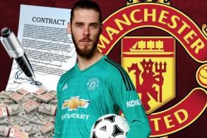 قررت إدارة مانشستر يونايتد وضع الحارس الإسباني امام خيارين