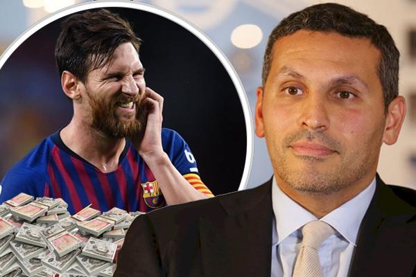 رئيس مانشستر سيتي قدم لميسي راتباً خيالياً تجاوز ثلاثة أضعاف ما يتقاضاه في النادي الكتالوني