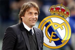 إدارة ريال مدريد اتصلت بالمدرب كونتي لمعرفة موقفه من تولي الجهاز الفني للفريق