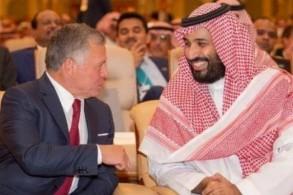 ولي العهد السعودي والعاهل الأردني