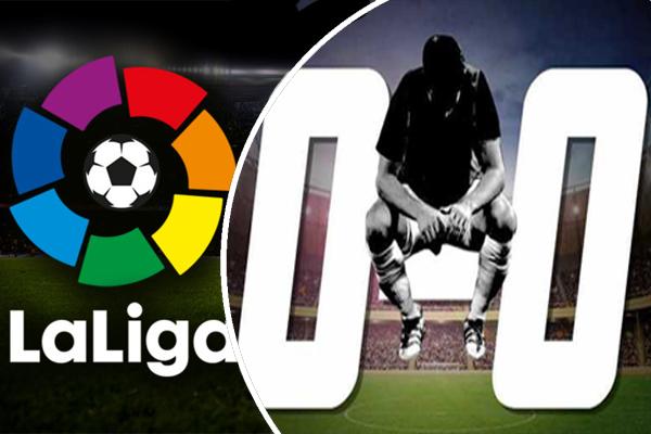 سجلت بطولة الدوري الإسباني خلال الموسم الجاري اكبر عدد من التعادلات في تاريخها بعد مرور تسع جولات علىإنطلاق منافساتها