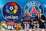 برشلونة وريال مدريد وليون يستهدفون الإطاحة بباريس سان جيرمان