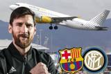 ميسي أصر على السفر إلى إيطاليا لدعم لاعبي برشلونة أمام إنتر ميلان