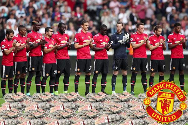 إدارة النادي صرفت 260 مليون جنيه استرليني في الموسم الماضي ، بينما صرفت 308 ملايينجنيهاسترليني الموسم الجاري