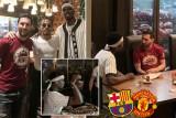 ميسي يطلب من بوغبا الانتقال إلى برشلونة خلال مأدبة غذاء في دبي