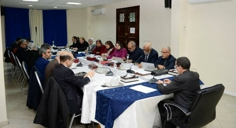 الامانة العامة لحزب العدالة والتنمية في اجتماع سابق