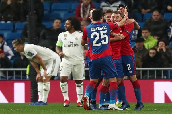 مني ريال مدريد بخسارة تاريخية على أرضه بسقوطه المذل أمام مضيفه سسكا موسكو