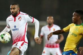 تنتظر الوداد البيضاوي المغربي بطل الموسم قبل الماضي رحلة صعبة إلى جنوب إفريقيا لمواجهة صنداونز بطل 2016