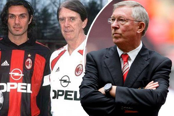 فهم فيرغسون استحالة موافقة الأب على انتقاله ابنه باولو من نادي ميلان