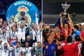 ريال مدريد الإسباني الأول عالمياً والأهلي المصري الأول عربياً