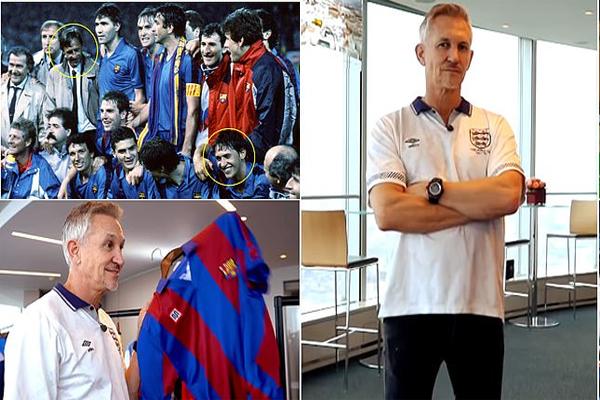 اعترف لينكر بان كرويف غيّر مسيرته الكروية مع برشلونة