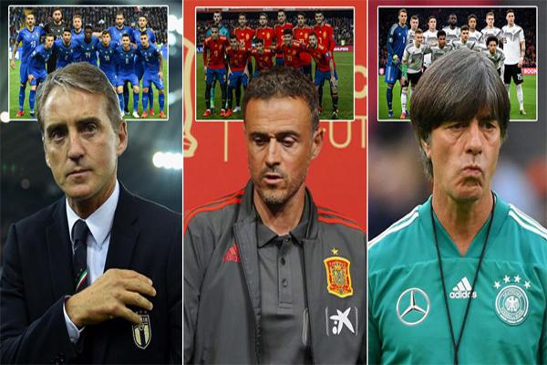 ظهرت بوادر نجاح استراتيجية الإحلال للمنتخبات الثلاثة في مستهل تصفيات بطولة كأس أمم أوروبا 2020