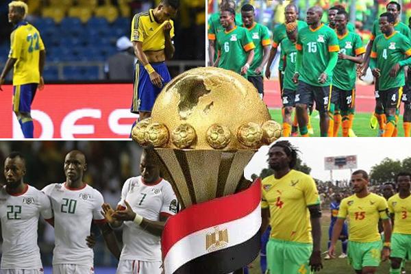 ستغيب منتخبات زامبيا و بوركينافاسو وتوغو والغابون عن كأس أمم افريقيا مما يؤثر على المستوى الفني للبطولة