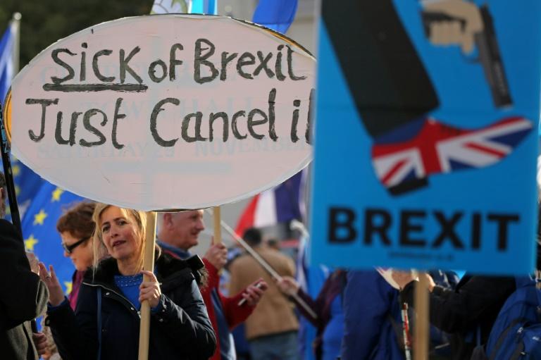 تظاهرة ضد بريكست