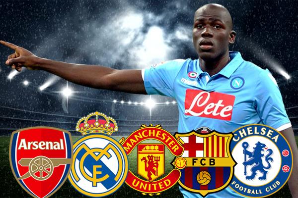 كوليبالي هو اكثر المدافعين طلباً في سوق الانتقالات من كبار الأندية الأوروبية