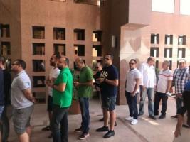 مصريون في الإمارات يشاركون في التصويت على الاستفتاء على التعديلات الدستورية