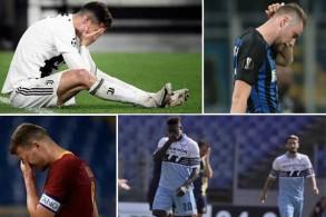 الأندية الإيطالية تواصل السقوط وتفشل بالوصول إلى النصف النهائي القاري