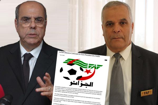 اشاد الاتحاد الجزائري بردة الفعل الحكيمة لممثله عمار بهلول