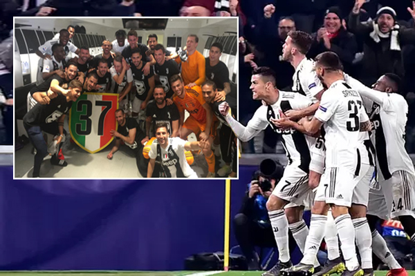 تُصر إدارة يوفنتوس على ان رصيد النادي الحقيقي هو 37 لقباً في بطولة الدوري الإيطالي