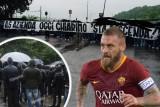 روابط روما ترفض رحيل دي روسي وترفع لافتات مناهضة لرئيس النادي