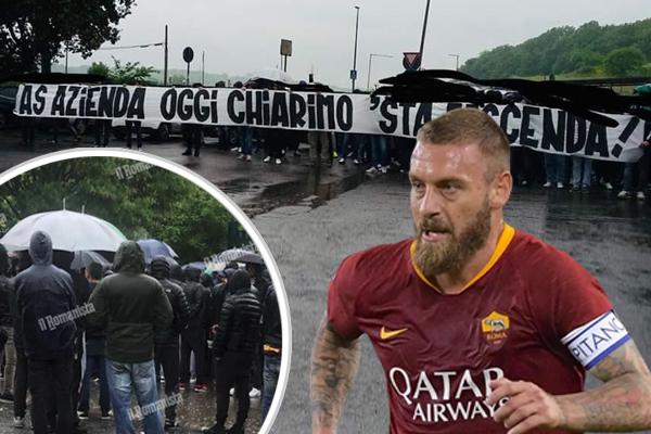 روابط نادي روما الإيطالي ترفض رحيل دانييلي دي روسي