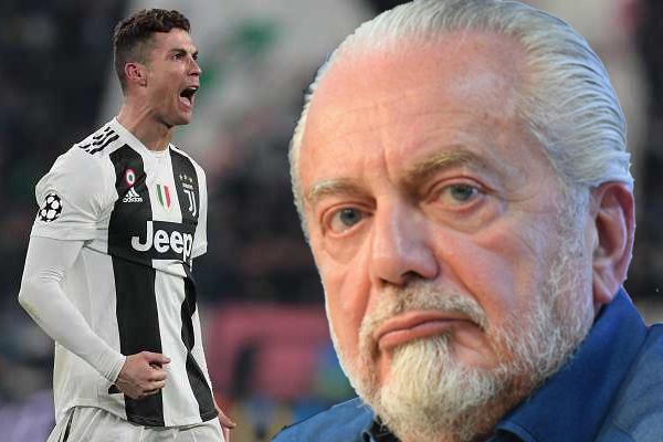 أشاد الإيطالي أوريليو دي لورينتيس رئيس نادي نابولي الإيطالي بصفقة يوفنتوس في التعاقد مع رونالدو