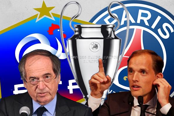 دخل لوجرايت في تراشق إعلامي مع الألماني توماس توخيل مدرب نادي باريس سان جرمان الفرنسي