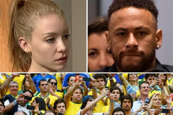 غالبية الجماهير البرازيلية التي شاركت في التصويت ترى بأن نيمار بريء من تهمة الاعتداء والاغتصاب