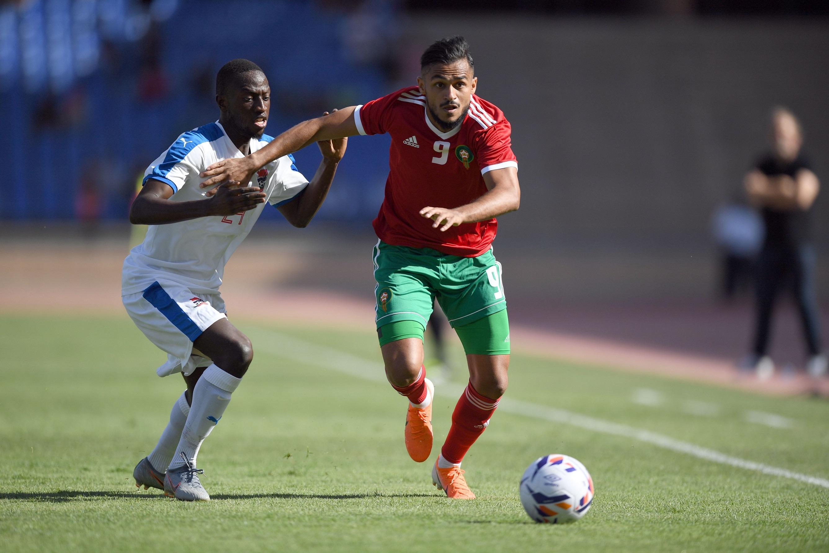 من ودية المغرب وغامبيا بمراكش