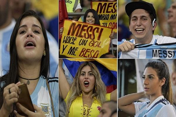 أفراح كولومبية عارمة وخيبة أمل أرجنتينية.. في صور