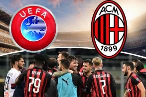 إدارة نادي ميلان الإيطالي طلبت من الاتحاد الأوروبي لكرة القدم إعفاء فريقها من المشاركة في مسابقة الدوري الأوروبي