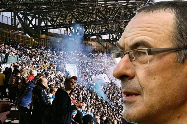 شنت جماهير نابولي حملة على مدرب الفريق السابق ماوريسيو ساري بسبب موافقته على تدريب يوفنتوس