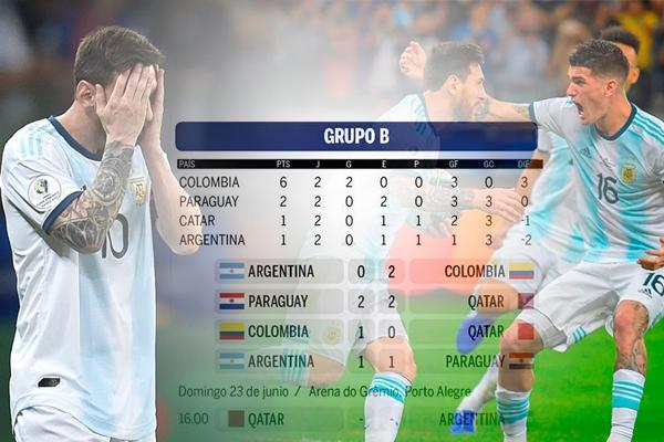 مصير الأرجنتين في بلوغ الدور الربع النهائي لم يعد بأقدام لاعبيها